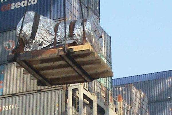 55吨设备 B to B运输