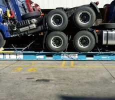 Large Vehicle in Special Container Transportation