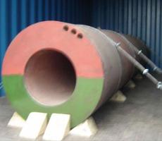 Superheavy Beam Barrel Loading